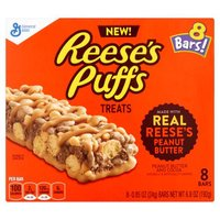 Reese's Puffs Treat Bars - 8 Count, 6.8 Ounce