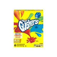 Gushers Strawberry Splash and Tropical Flavored - 6 Count, 4.8 Ounce