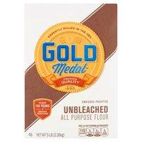 Gold Medal Unbleached All Purpose Flour - 5 Pound Bag, 80 Ounce