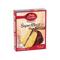Betty Crocker Super Moist Butter Recipe Yellow Cake Mix, 15.25 Ounce