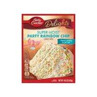 Betty Crocker Betty Crocker Delights Super Moist Party Rainbow Chip Cake Mix, 15.25 Ounce