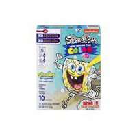 Betty Crocker SpongeBob SquarePants Fruit Snacks - 10 Pack, 8 Ounce