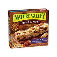 6 bars. Made with 100% natural whole grain oats. Almonds, raisins, peanuts & cranberries.