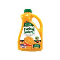 100% Pure Florida Orange Juice. Not-from-concentrate. Pasteurized.