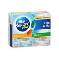 Alka-Seltzer Plus Alka-Seltzer Plus Maximum Strength Day & Night Cold &Flu Liquid Gels, 20 Each