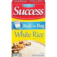 Success Rice - Boil-in-Bag White, 396 Gram