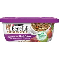 With Carrots, Barley, Wild Rice & Spinach. 100% Complete Nutrition For Puppies & Adult Dogs.