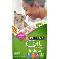 Purina Cat Chow Dry Cat Food Purina Cat Chow Dry Cat Food Indoor 3.15 lb. Bag, 3.15 Pound