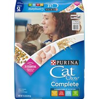 Purina Cat Chow Cat Food Chicken, 15 Pound