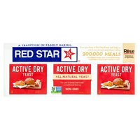Red Star Dry Yeast, 3 Each