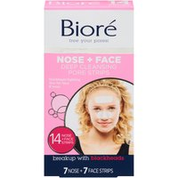 Biore Pore Strips - Deep Cleansing Face & Nose, 14 Each