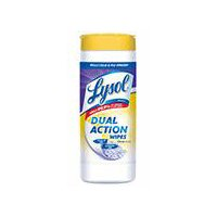Lysol Dual Action - Disinfecting Wipes, 35 Each