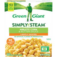 Green Giant Steamers Niblets Corn & Butter Sauce, 10 Ounce