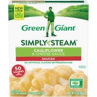 Green Giant Steamers Cauliflower & Cheese Sauce, 10 Ounce