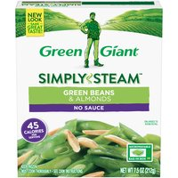 Green Giant Steamers Green Beans & Almonds, 7.5 Ounce