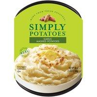 Simply Potatoes Mashed Potatoes - Garlic, 24 Ounce