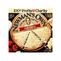 Newman's Own Thin and Crispy Four Cheese Pizza, 16 Ounce