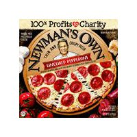 Newman's Own Newman's Own Thin and Crispy Uncured Pepperoni Pizza, 15.1 Ounce