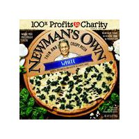 Newman's Own Thin and Crispy White Pizza, 15.1 Ounce
