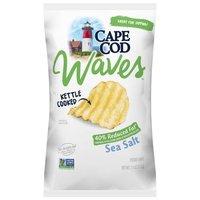 Cape Cod Potato Chips Cape Cod Potato Chips Reduced Fat Waves Potato Chips, 7 Ounce