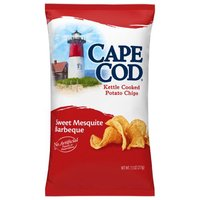 Cape Cod Cape Cod Sweet Mesquite Bbq Potato Chips, 7.5 Ounce