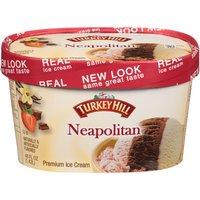 Turkey Hill Original Recipe Neapolitan Premium Ice Cream, 48 Fluid ounce