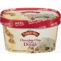 Turkey Hill Premium Ice Cream - Chocolate Chip Cookie Dough, 48 Fluid ounce