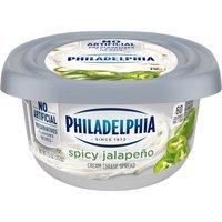 Philadelphia Cream Cheese Spread - Spicy Jalapeno, 212 Gram