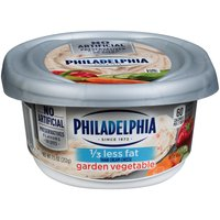 Philadelphia Philadelphia Cream Cheese Spread - Garden Vegetable, 212 Gram