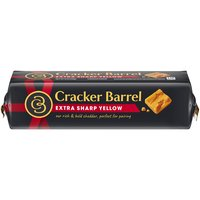 Creamy and smooth with a bold, rich flavor. Cracker Barrel Natural Extra Sharp Cheddar Cheese contains 0G lactose per serving.