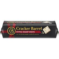 Creamy and smooth with a bold, rich flavor. Cracker Barrel Natural extra sharp cheddar cheese that contains 0G lactose per serving.