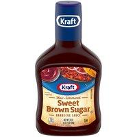 Kraft Kraft BBQ Sauce - Sweet Brown Sugar, 18 Ounce