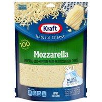 Kraft Natural Cheese Shredded Mozzarella, 8 Ounce