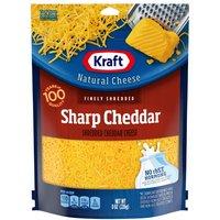 Kraft Fine Sharp Cheddar Cheese, 8 Ounce