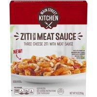 Main Street Kitchen Ziti With Meat Sauce, 255 Gram