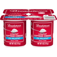 Breakstone's Cottage Cheese - Low Fat Small Curd Snack Size, 16 Ounce