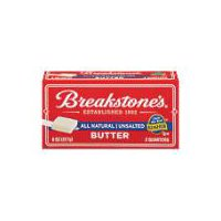 Breakstone's Butter - Unsalted - All Natural, 8 Ounce