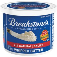 Breakstone's Whipped Butter - Salted - All Natural, 8 Ounce