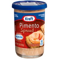 Use it to jazz up almost any snack, from delicious deviled eggs, to burgers and hot dogs or celery and crackers. This pimento Kraft cheese spread, 5 oz, delivers cream cheese with a kick.