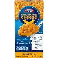 Kraft Macaroni & Cheese Dinner - The Cheesiest Original, 7.25 Ounce