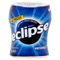 Get incredibly fresh breath whenever you need it with Eclipse Sugarfree Gum. Crunch into the minty outer shell & release a cool burst of refreshing Winterfrost flavored gum. Keep a pack in your pocket