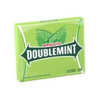 You can never have too many friends, and it's easy to make even more friends when you have Doublemint gum. Chewing this classic mint flavor gum makes it easy to keep your cool.