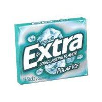 Extra Extra Polar Ice Sugarfree Gum, Single Pack, 15 Ounce