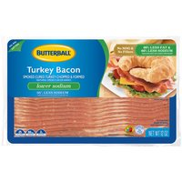 Butterball Butterball Low Sodium Turkey Bacon, 12 Ounce