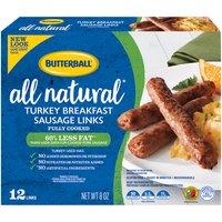 Butterball Turkey Links, 8 Ounce