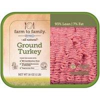 Farm to Family Farm to Family Farm to Family All Natural Ground Turkey, 1 Pound
