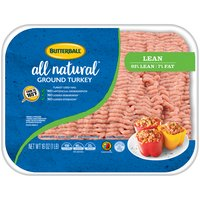 Butterball Ground Turkey - 93% Lean, 16 Ounce