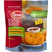 Made with chicken raised with no antibiotics ever, our chicken nuggets are breaded and seasoned to perfection. With 14 grams of protein per serving, they are sure to be a hit with the entire family.