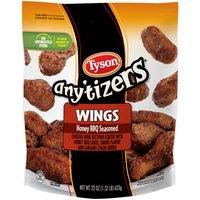 Tyson Any'tizers Honey BBQ Seasoned Wings, 1.38 Pound
