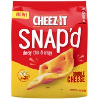Kellogg's Cheez It Snap'd Crackers - Double Cheese, 7.5 Ounce